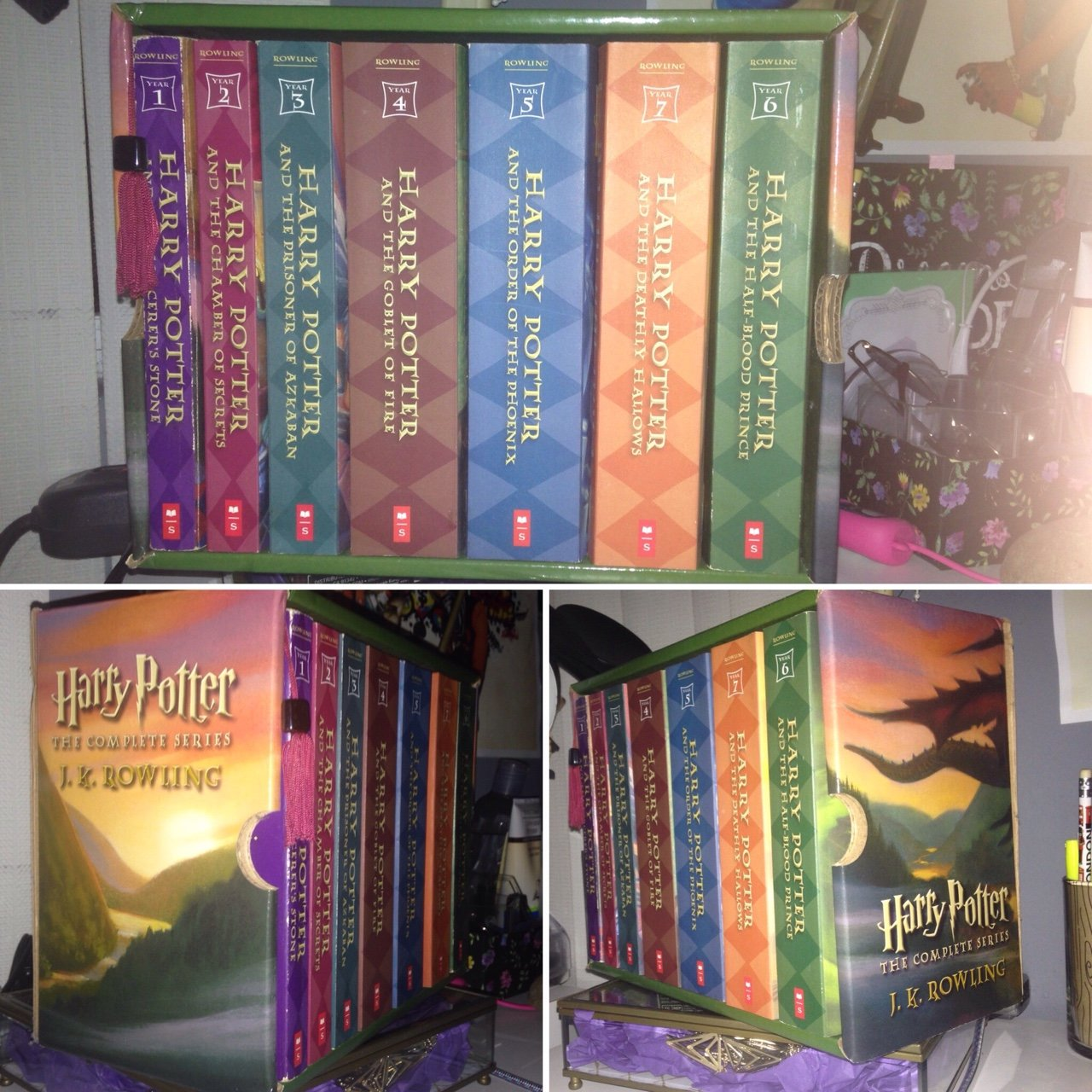 Harry Potter Book Collection Brand New Never Been Used In Depop