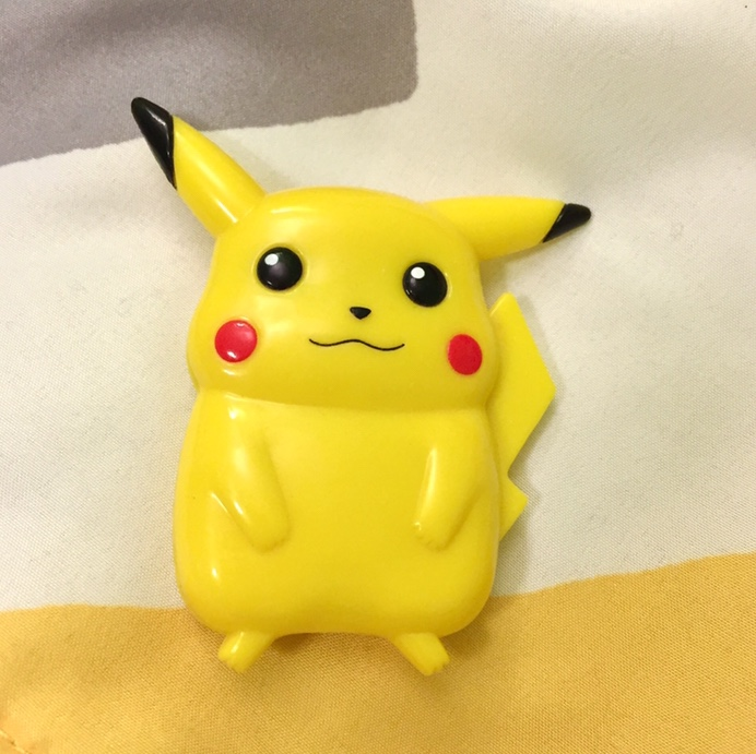tiny 1999 pikachu Pokemon calculator ! In great    - Depop