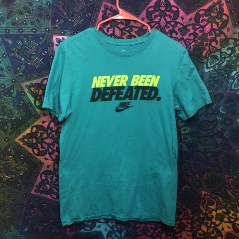 00abd995e71f Fresh Colorful Nike T shirt! +Size S (men s) +not very for - Depop