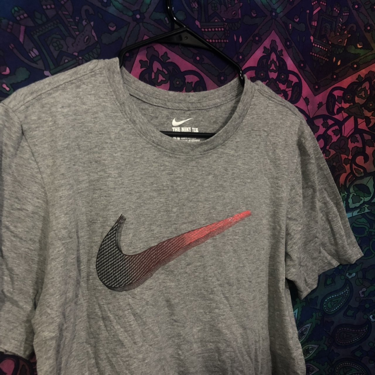 cdd94f237 Grey Ombre Nike Graphic T-Shirt! +Size