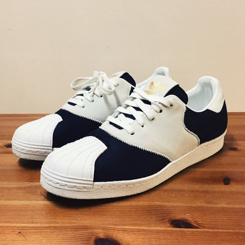 purchase cheap 1b4b5 4c7c8  collectivexchange. 2 years ago. Staten Island, NY, USA. Pre-Loved adidas X  porter superstar 80 s   ships without original ...
