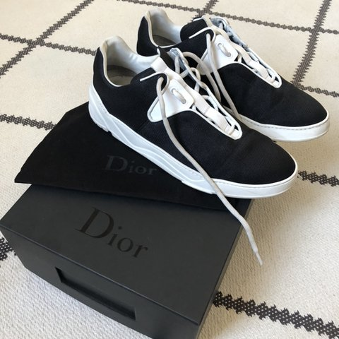 Dior Homme iconic b17 trainers in black