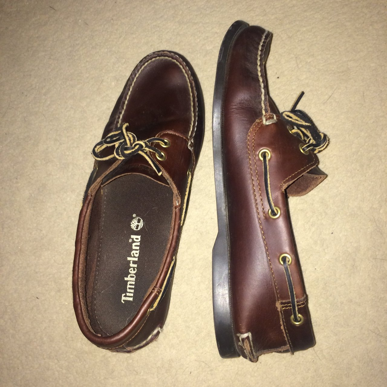 Size 10 Timberland Boat Shoes in Brown Colourway 74a6f54d9