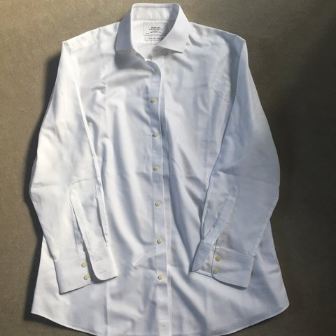 19c10165 @amypeterss. 3 years ago. Paddock Wood, Tonbridge TN12, UK. Perfect  condition Charles Tyrwhitt white shirt ...