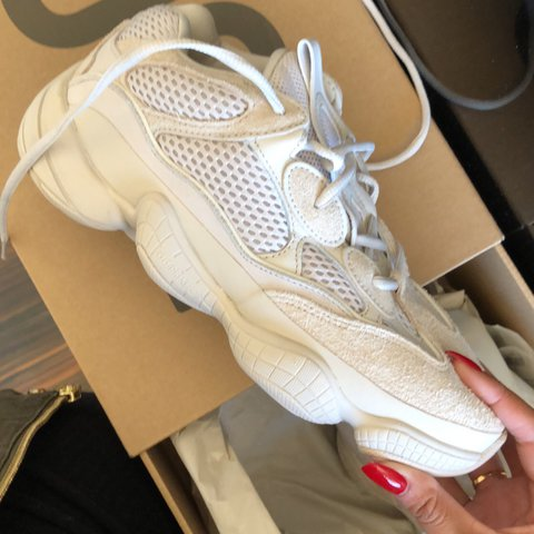 new concept 21448 78f96 YEEZY 500 BLUSH. size 6. Never worn. I bought them... - Depop