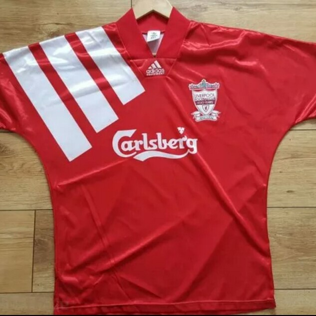 check out 35cbf a0167 Liverpool Rare Vintage 1992 Home and Away Jerseys ...