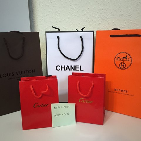 ce2ab9b4e Selling a bundle of brand new luxury paper gift bags‼ 1 LV - Depop