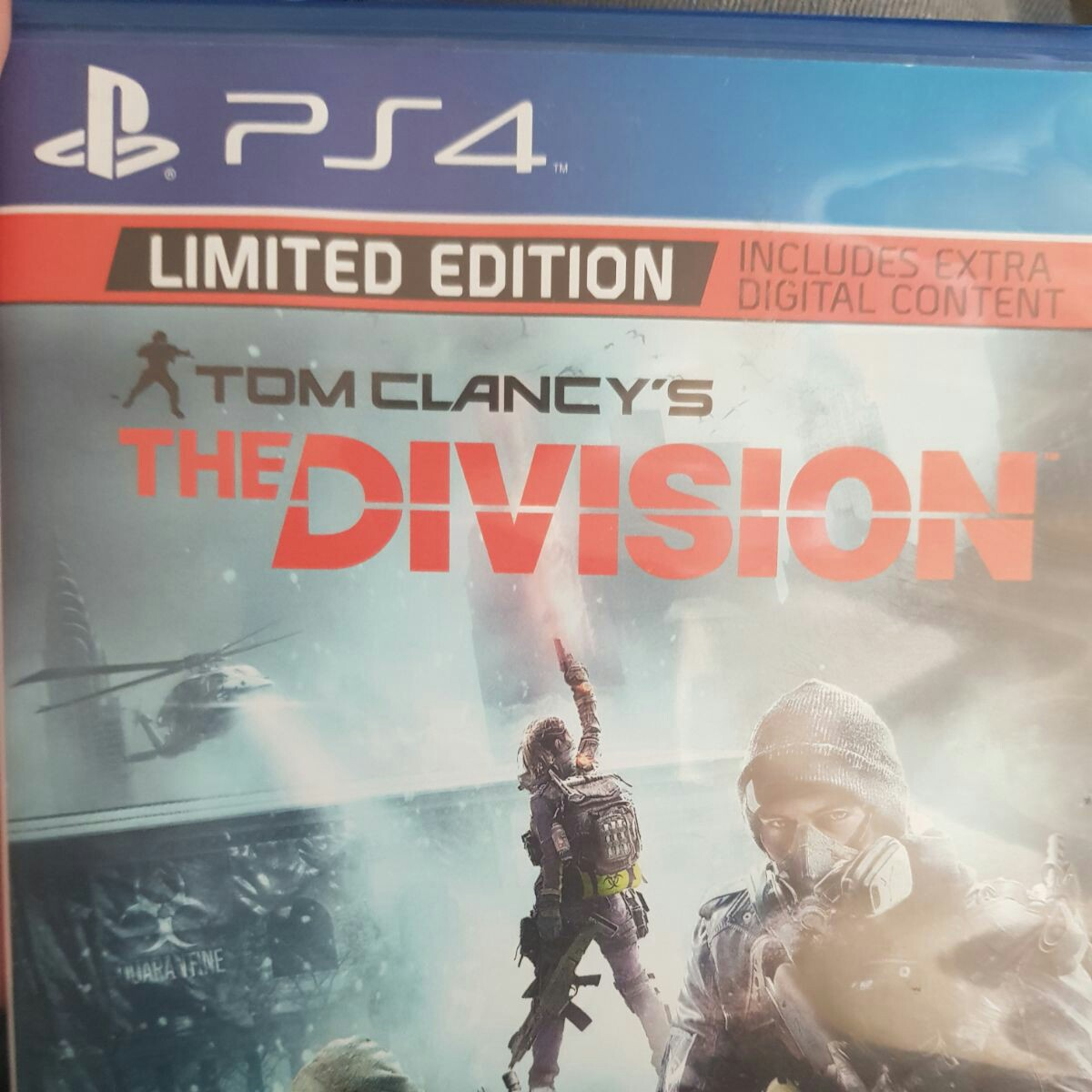 Tom Clancy's The Division limited edition PS4 game,    - Depop