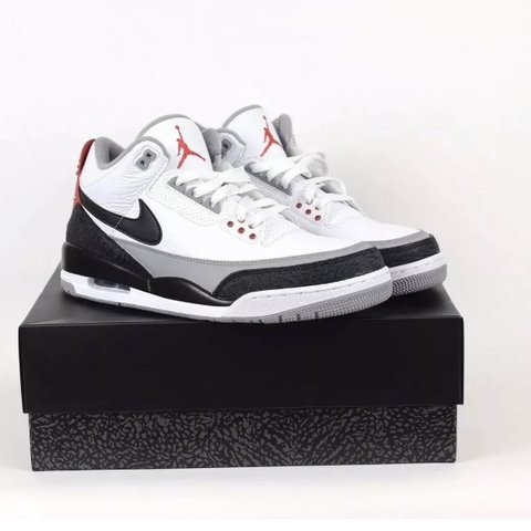 6899dbc3d71a Nike Air Jordan 3 Tinker Hatfield Size UK11.5 US12.5 BNWT. - Depop