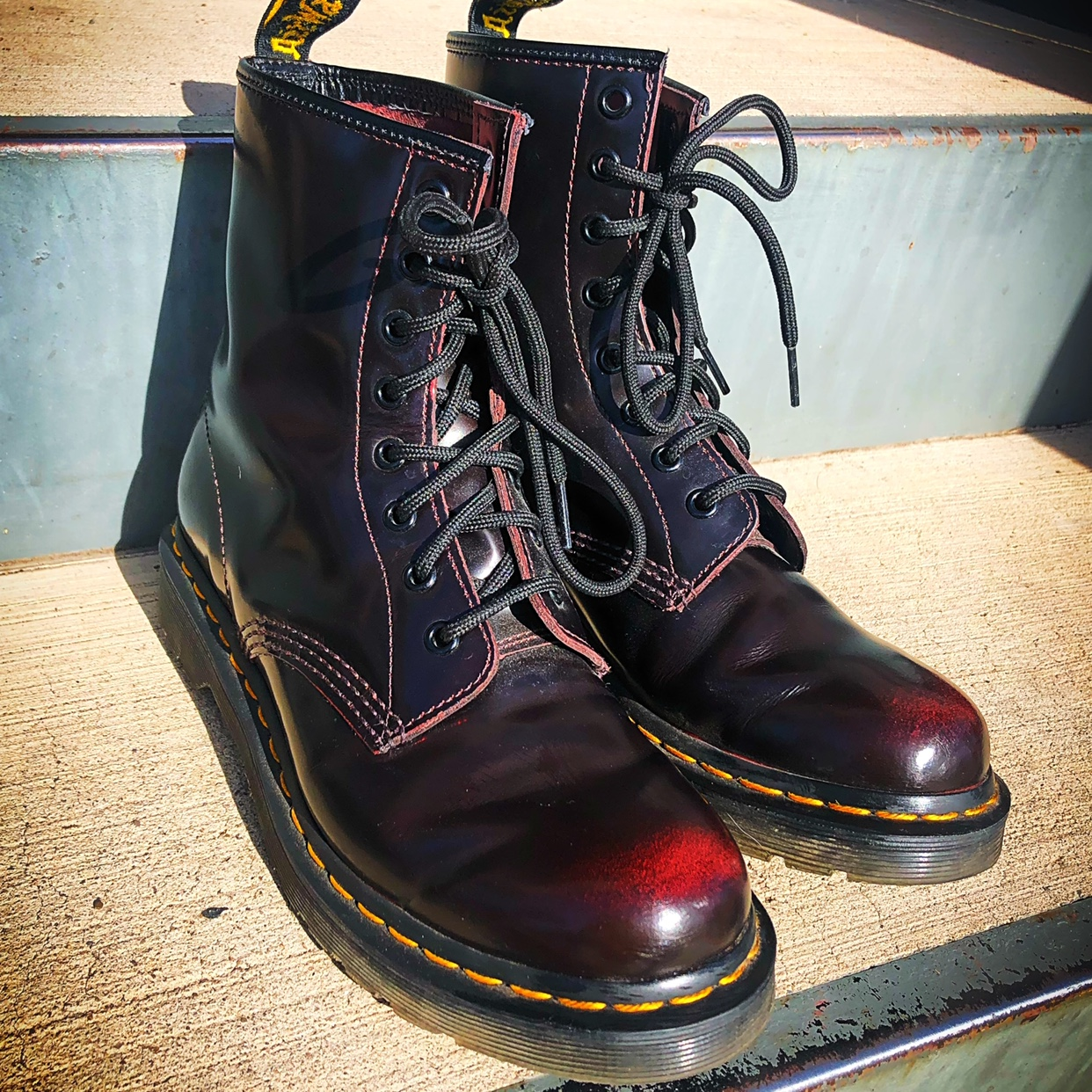 Smooth Dr Martens Red Womens Cherry 1460 0PXwON8nk
