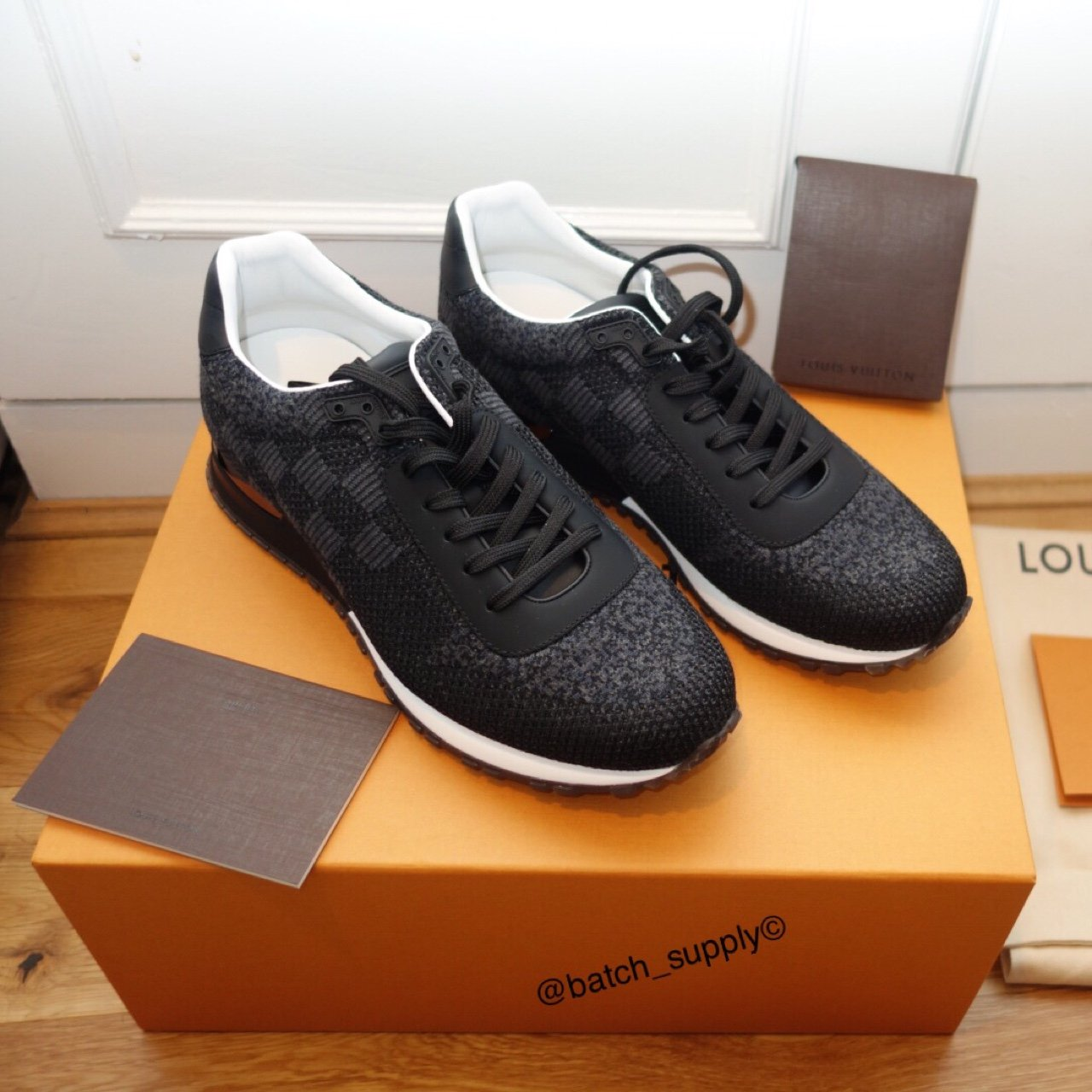723e27669aec Brand new and boxed Louis Vuitton Run Away Trainers. Brought - Depop