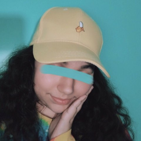 b5891a6b8 yellow banana baseball cap only worn twice i originally - Depop