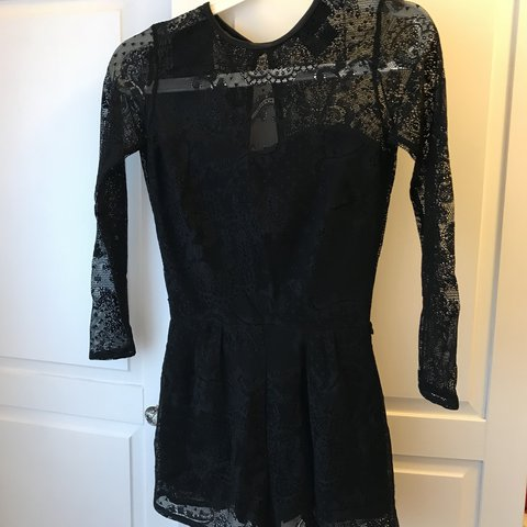 1a7f9712fae Lace playsuit from ASOS Worn once but too small