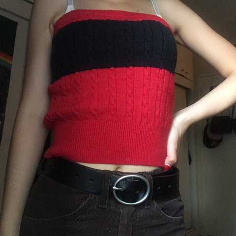 c11d4294b67 Tommy Hilfiger tube top ❤ Cutest tube top ever!! Doesn t a - Depop