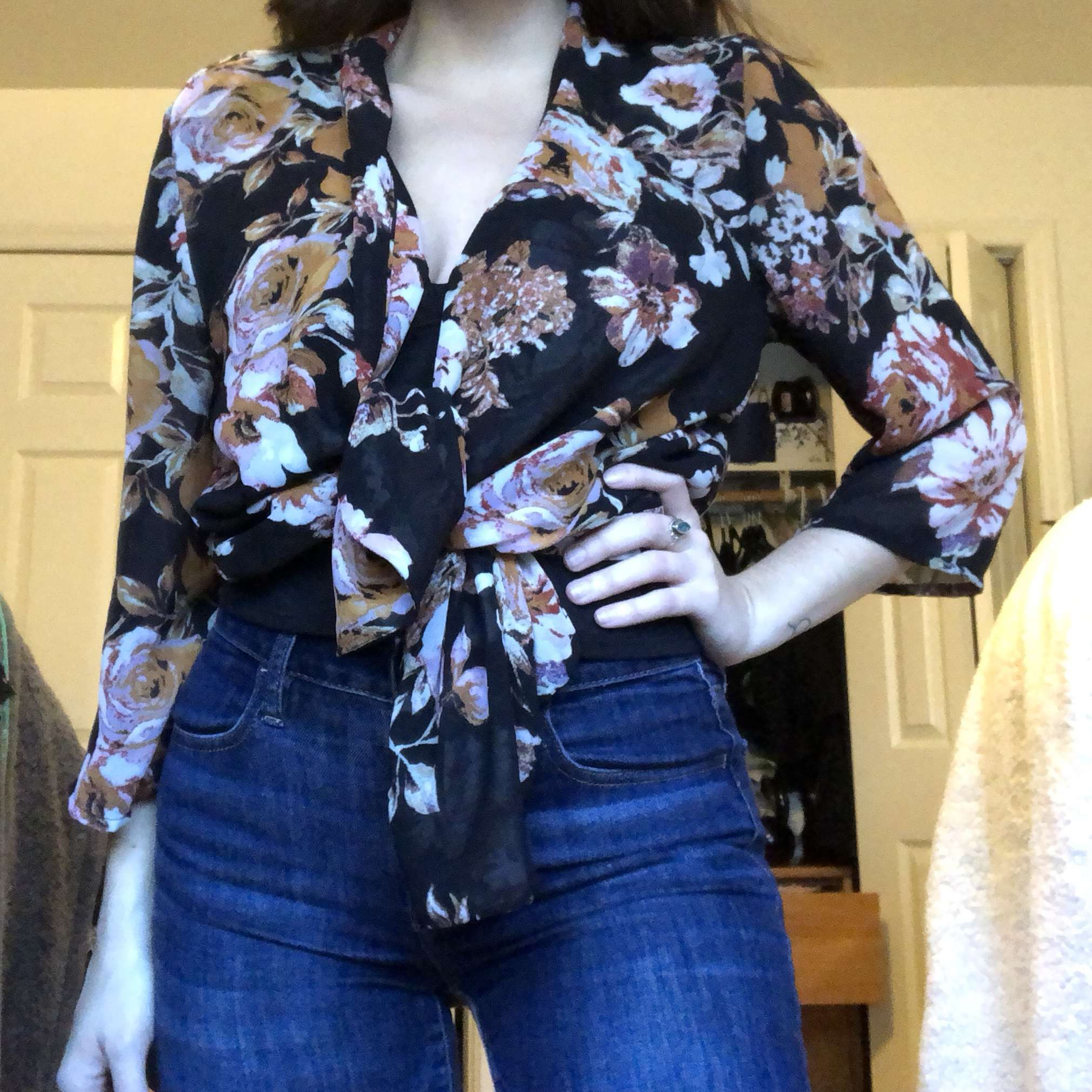 Floral kimono/cardigan from Target  No longer in    - Depop