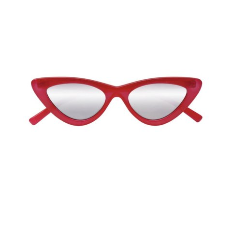 01ee00dfaeaac ADAM SELMAN X LE SPECS the last lolita in red mirrored. are - Depop