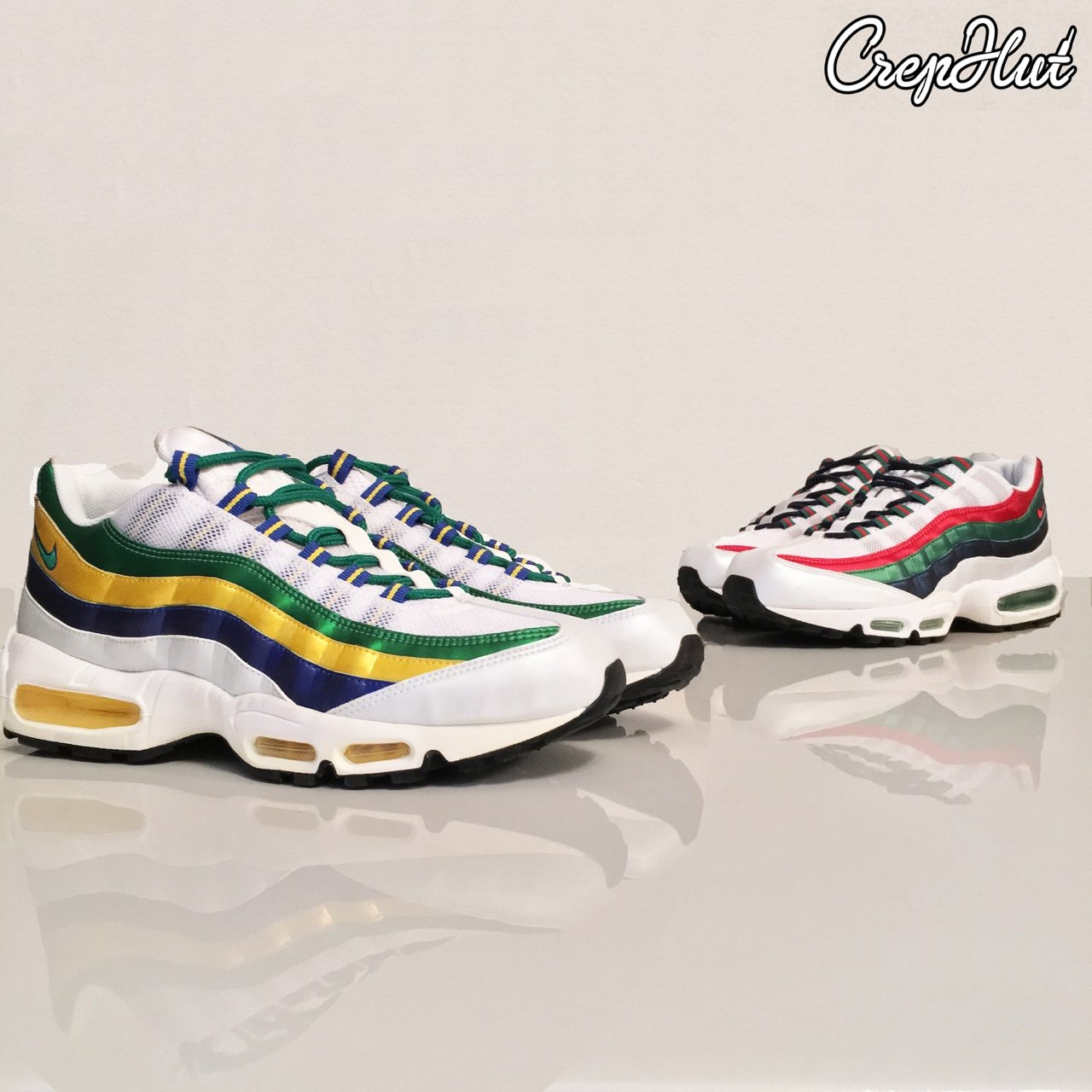 78819b5815e Nike Air Max 95  Mexico World Cup  and  Brazil World Cup  in - Depop