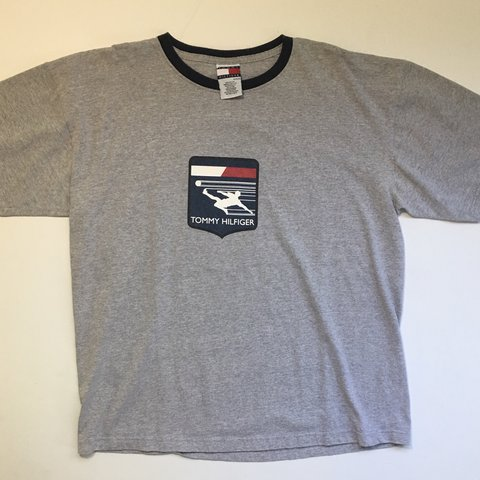 e70452fb5 @octhreads. last year. Westminster, United States. Men's Vintage 90s Tommy  Hilfiger Soccer t-shirt. Very good condition no flaws