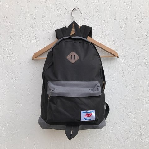 4cec45c9b99f1 New Balance backpack Classic style with one large pocket and - Depop