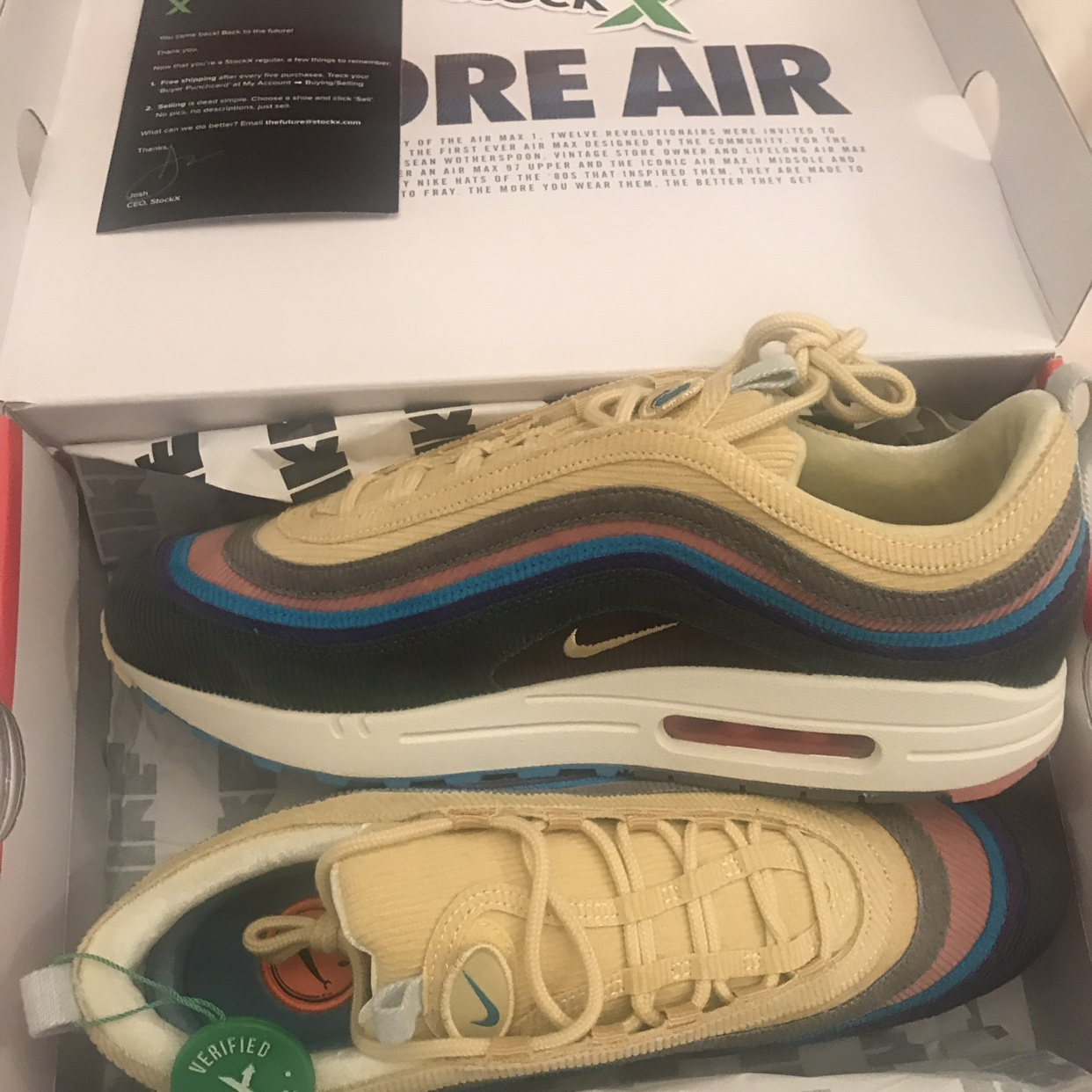excellent quality exquisite design cute Nike Air Max 97/1 Sean Wotherspoon Size 11UK StockX... - Depop