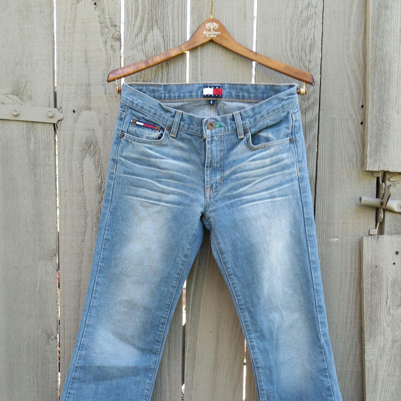 1d6bd634 @iatntx. last year. Austin, Texas, United States. Price drop! Holy Cow!  Hilfiger Hip Jeans.