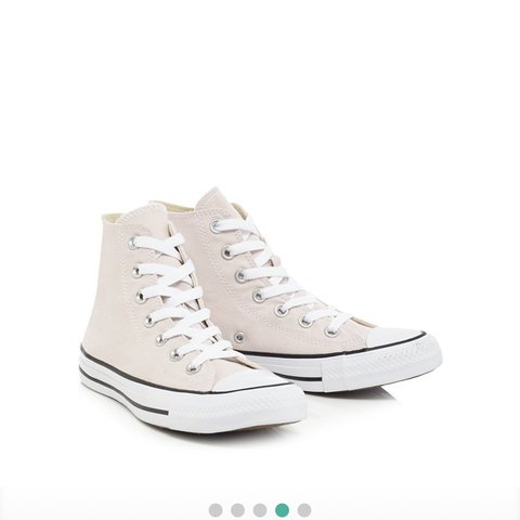 Converse Light pink canvas 'All Star' hi top trainers