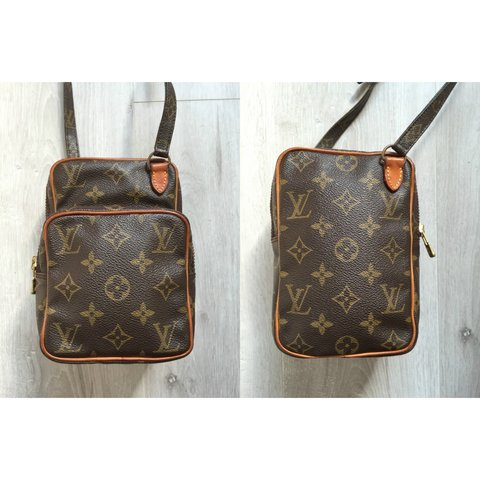 ec975a4b0bc0 The Louis Vuitton Amazon mini is a great size cross body bag - Depop