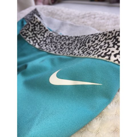 a1072b7387b61 Bought from Tokyo when I went there, Turquoise blue Nike and - Depop