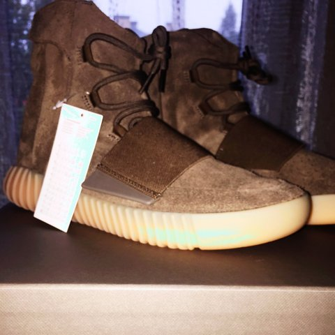 1e0721a58 WTS Yeezy 750 Light Brown DS 10 10 never worn in size 10 US - Depop