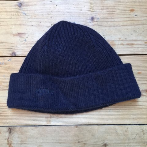 be1ebe46cd5 Hugo Boss Beanie Navy Blue. Condition 9 10 tags  polo Tommy - Depop