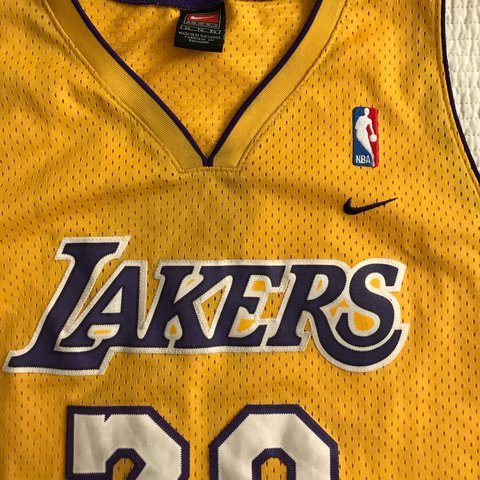 94a1d4c8236 Nike Los Angeles Lakers Gary Payton throwback. Home jersey