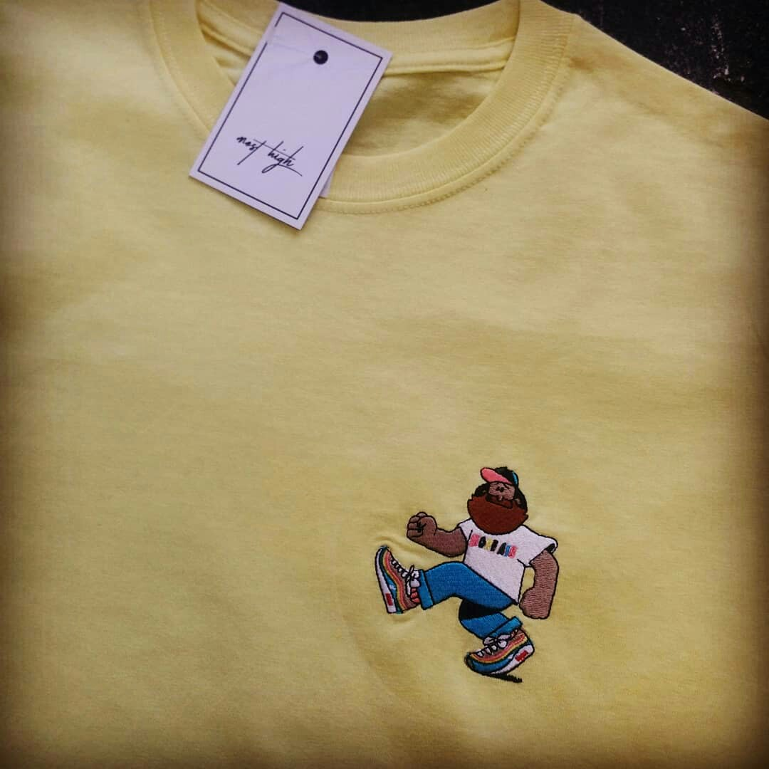 Sean Wotherspoon t shirt in yellow