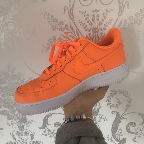 the latest c0b30 403d5  maisie gardner. 9 months ago. Burgess Hill, United Kingdom. Neon Orange  Nike Air Force 1