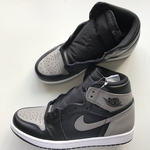 best loved 1a057 0a980  hancerosales. last year. Wokingham, United Kingdom. AIR JORDAN 1 SHADOW  GREY BOUGHT FROM NIKE SNKRS