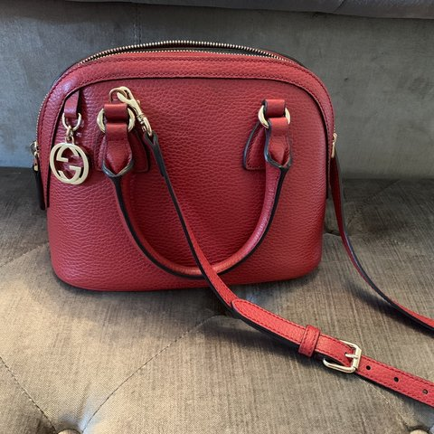 b99338e0f502 Authentic Red Gucci Bag. Brought from Bicester for £460. - Depop