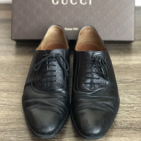 3f439ab2eb1 Gucci Men s dress shoes 7 1 2 men s Used but in great - Depop