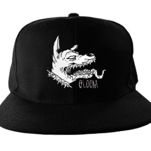 36364eacfcdda Rad Gloom SnapBack hat for all the dog lovers and gross art - Depop