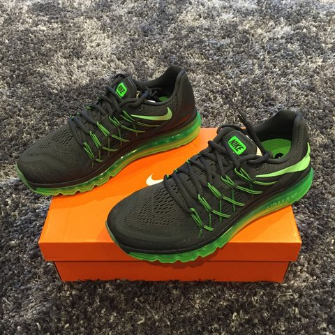 d86c96198d @ry_best. 3 years ago. Leeds, UK. New in box Nike air max 2015 | Anthracite  Black and Green ...