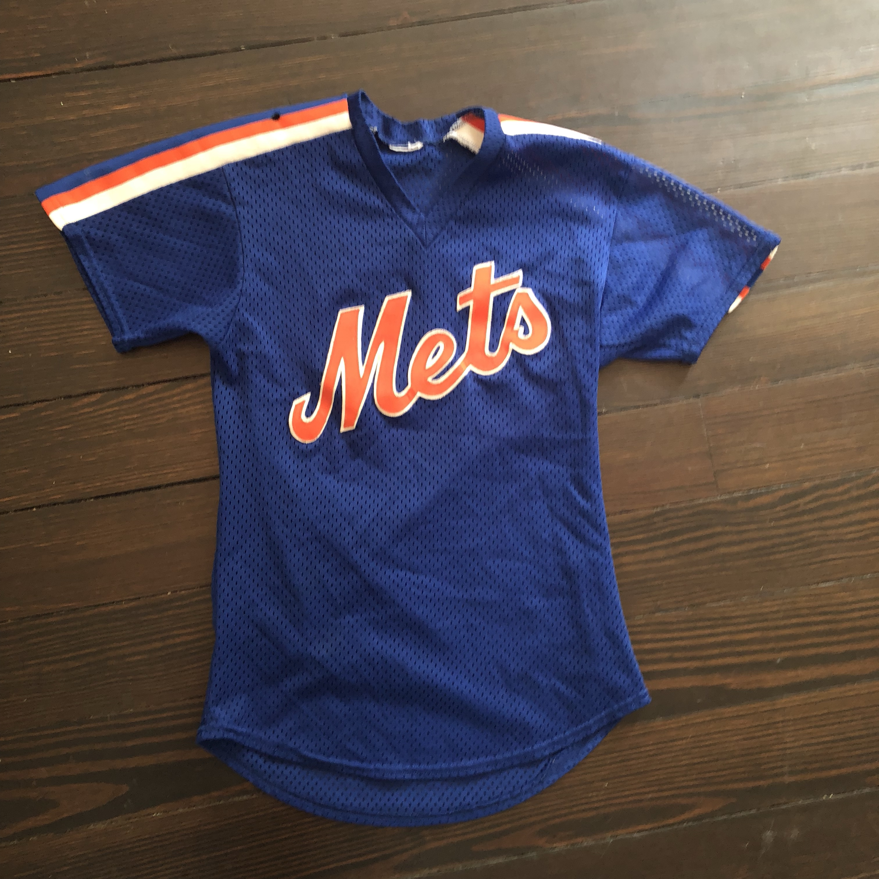reputable site 68592 24e23 New York Mets Throwback Jersey **Authenticity... - Depop