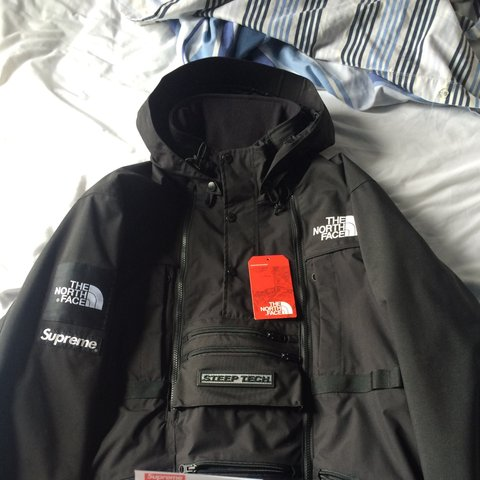 ... germany supreme x north face steep tech jacket size large. flawless  depop aef32 f19ea c7a55a40e