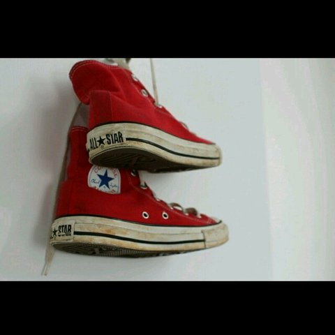 29eed4097616 Red converse size 5! Classic pair