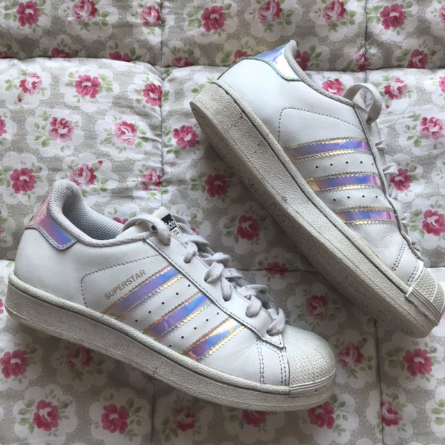 Adidas superstars trainers, Size 3