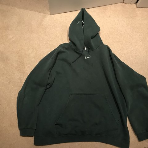 c3de93847f40 Vintage Nike Hoodie - Very rare piece with nike tick in - to - Depop