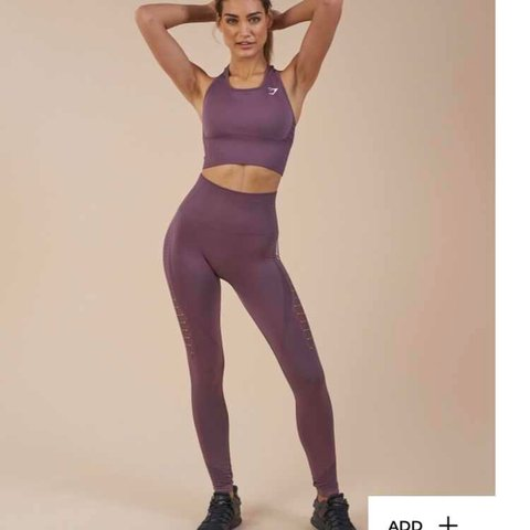 765b37e38359ae @kyflynn25x. 10 months ago. Plymouth, United Kingdom. Gymshark Energy  Seamless Leggings in Purple ...