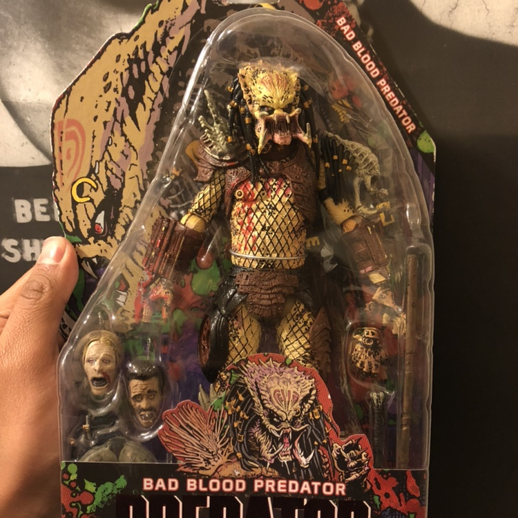 Bad Blood Predator figure in box never opened  Dm me