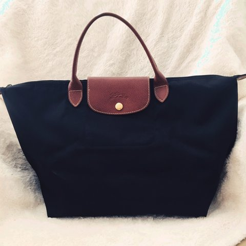 02df41c440 @flowerfromheaven. 3 years ago. Midway City, CA, USA. Authentic black Le  Pliage Longchamp.