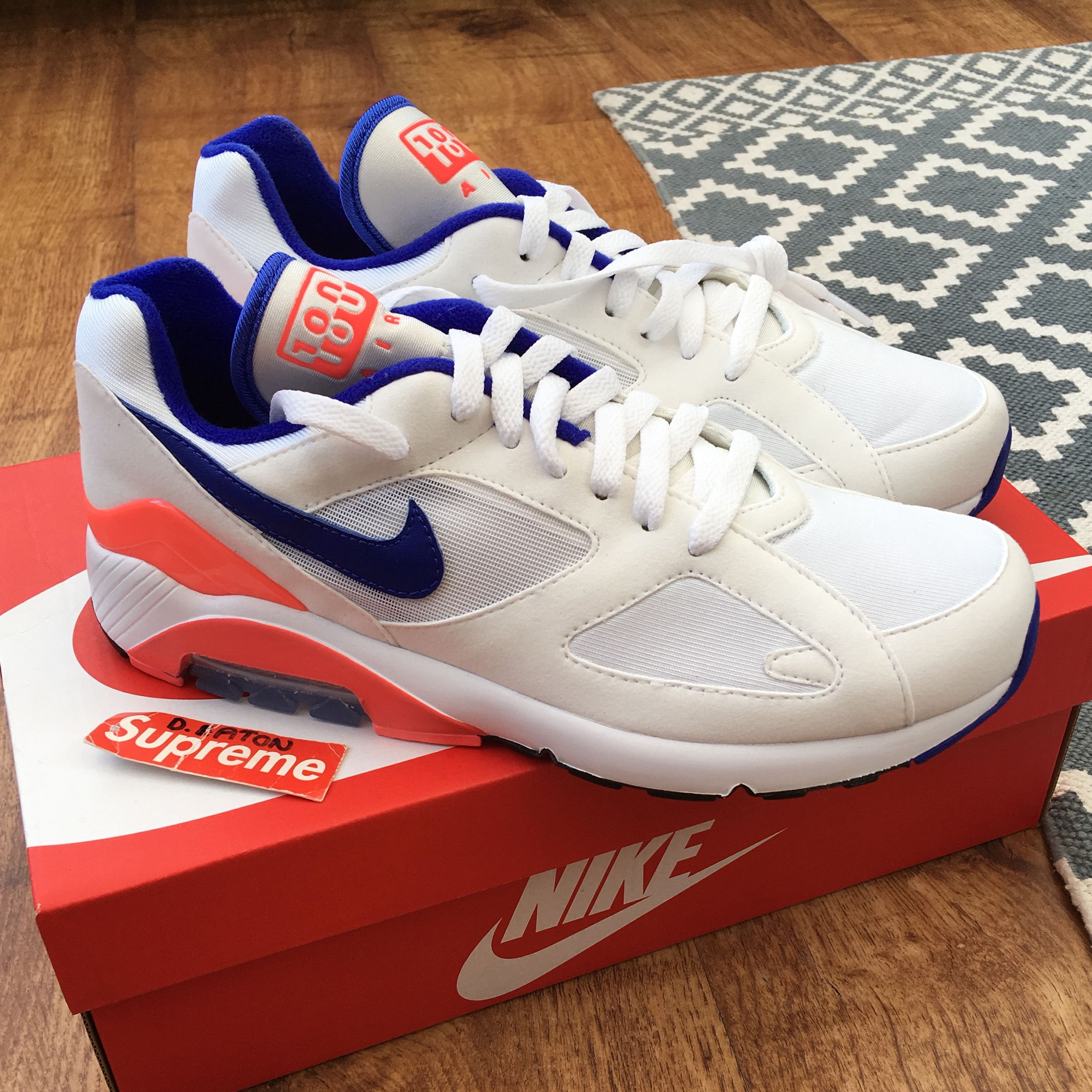 "NIKE AIR MAX 180 OG ""ULTRAMARINE"" UK6.5 NEW"