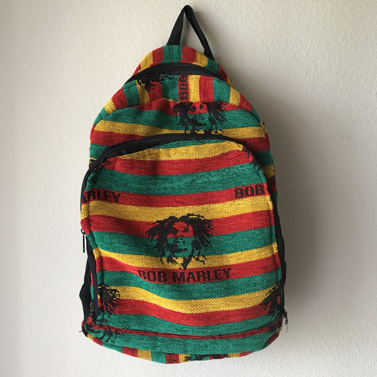 Price Adjusted For Sale Bob Marley Backpack Yellow And A Depop