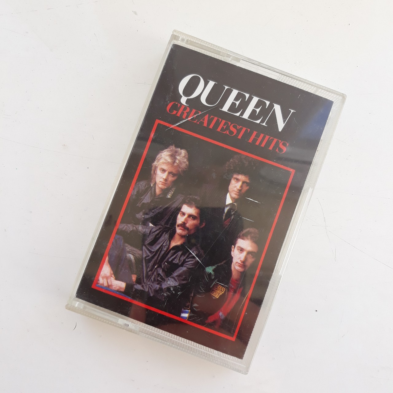 Queen greatest hits cassette tape. The outer tape... - Depop