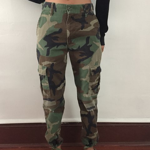 834598de20eee @simplisticallybold. 2 years ago. Philadelphia, United States. Camouflage  Pants Authentic army pants with side pockets.